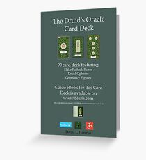 NEW! Druid Oracle Published Deck! Greeting Card