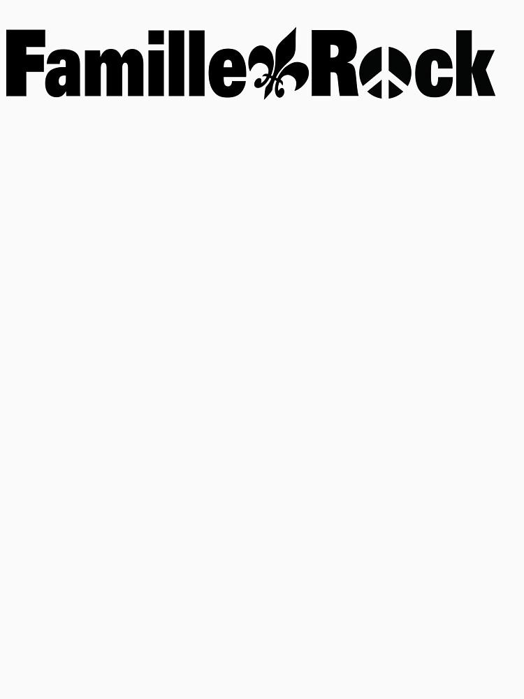 «Articles Famille Rock Logo Noir» par Ggiguere9