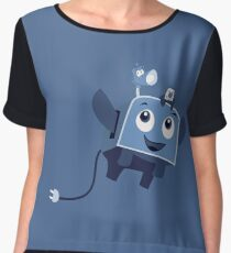 The Brave Little Toaster Goes To The Surface! Chiffon Top