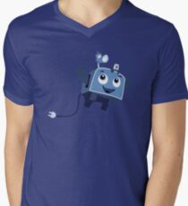 The Brave Little Toaster Goes To The Surface! Men's V-Neck T-Shirt