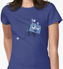 The Brave Little Toaster Goes To The Surface! Women's Fitted T-Shirt