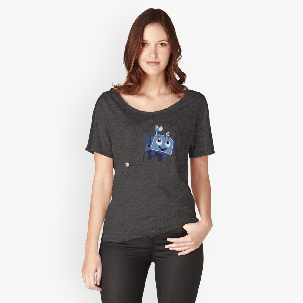The Brave Little Toaster Goes To The Surface! Women's Relaxed Fit T-Shirt Front