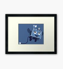 The Brave Little Toaster Goes To The Surface! Framed Print
