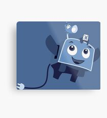 The Brave Little Toaster Goes To The Surface! Metal Print