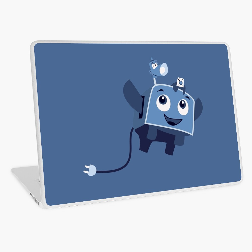 The Brave Little Toaster Goes To The Surface! Laptop Skin