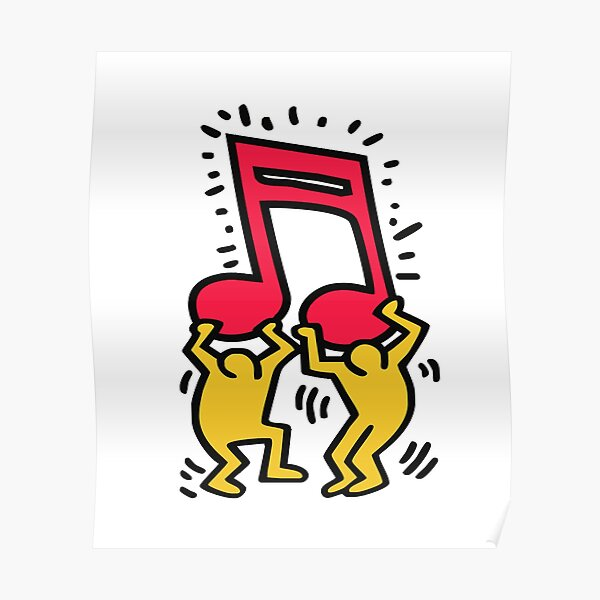 keith haring rap keith haring rap keith haring rap Poster