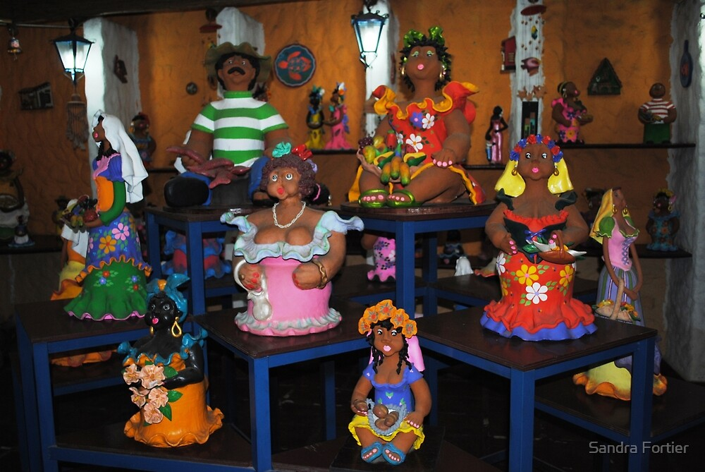 Pottery People by Sandra Fortier