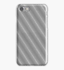 Superb curves optical effects! iPhone Case/Skin