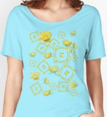 Yellow Rose Boquet Women's Relaxed Fit T-Shirt