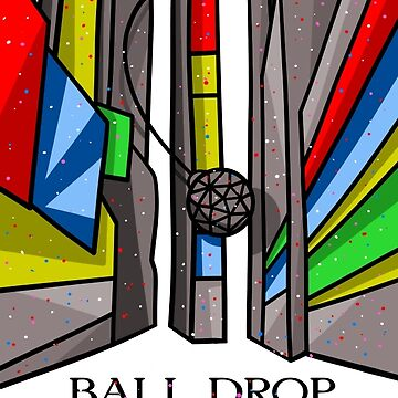 Times Square Ball Drop by piedaydesigns