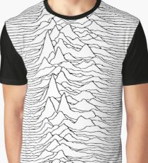 Music band waves - white&black Graphic T-Shirt