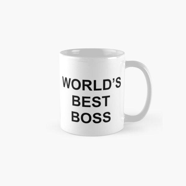 Meilleur boss du monde Mug classique