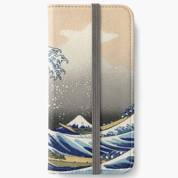 The Great Wave off Kanagawa iPhone Wallet
