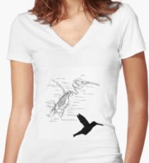 Bzzzzz Women's Fitted V-Neck T-Shirt