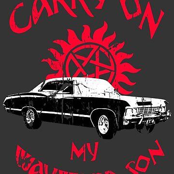 Carry on my wayward son by herogear