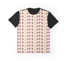 Little Nature Purple Graphic T-Shirt