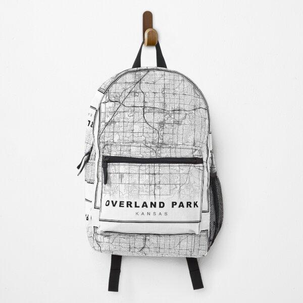 Overland Park Map Backpack