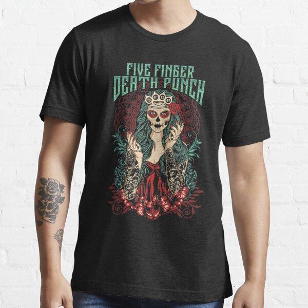 Five Finger Death Punch Lady Muerta Girls Essential T-Shirt