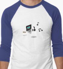 Napstablook Chill Undertale Men's Baseball ¾ T-Shirt