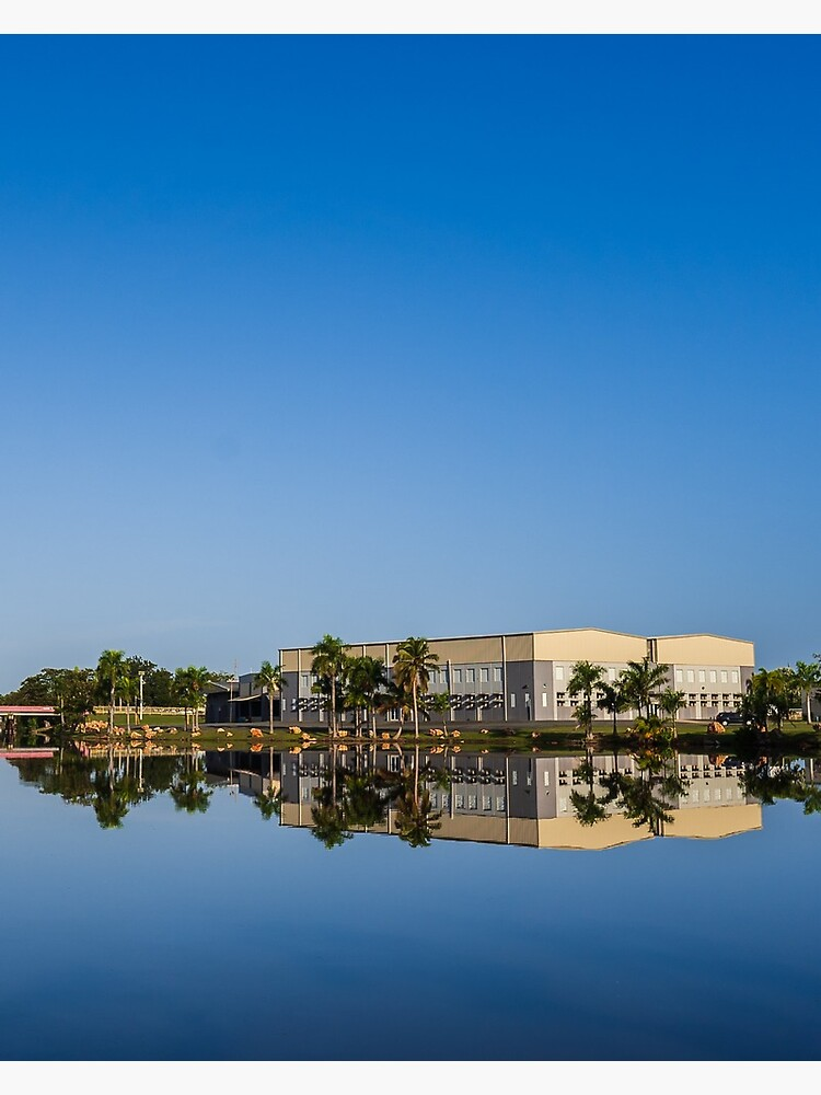 Mirror Reflection Levittown, Puerto Rico by ejrojas78