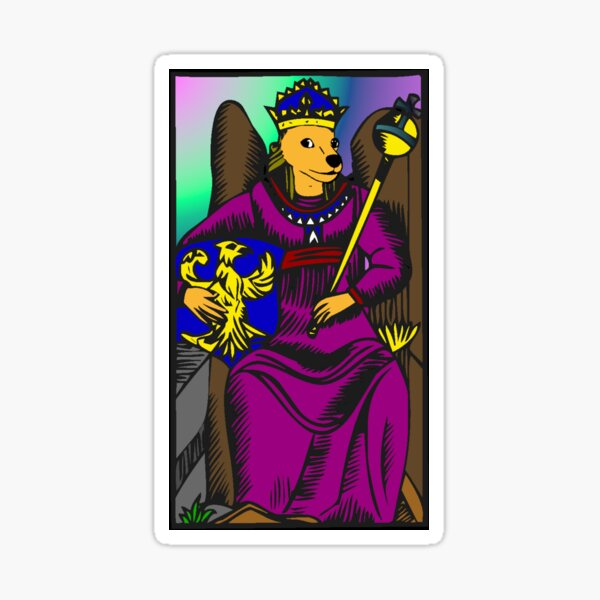 Doge of Pentacles Sticker