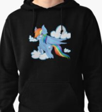 Rainbow Dash Pullover Hoodie