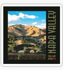 Napa Valley - Regusci Winery III Sticker