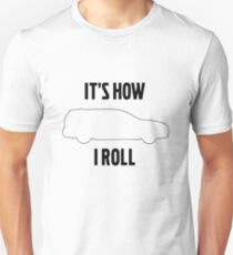 So rolle ich V70 Slim Fit T-Shirt