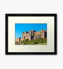 Bamburgh Castle, Northumberland Framed Print
