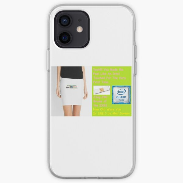 Like An Intel by Mad Donner iPhone Soft Case