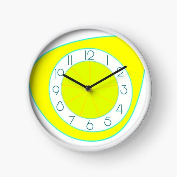 Quartiers de citron Horloge