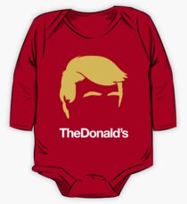 TheDonald's | Red One Piece - Long Sleeve