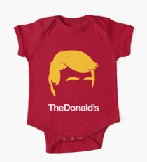 TheDonald's | Red Kids Clothes