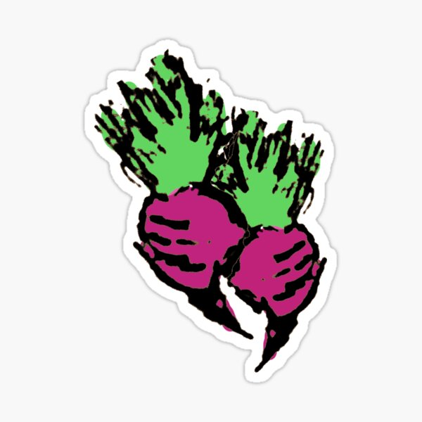 Sorrier Radishes Sticker