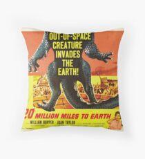 20 million miles to earth 04 Throw Pillow