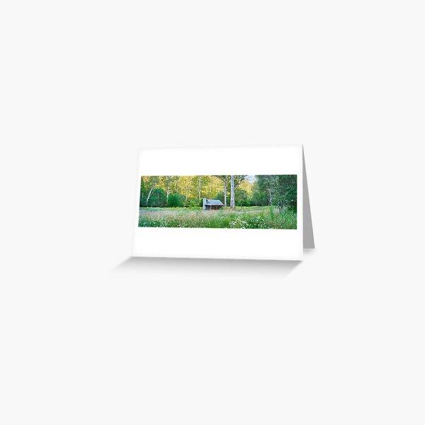 Upper Jamieson Hut, Howqua Hills, Victoria, Australia Greeting Card