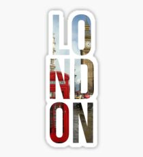 London Town Sticker