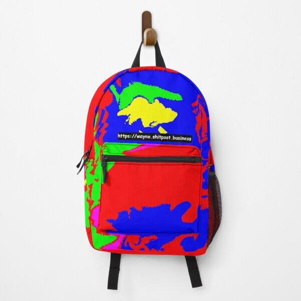 Wayne Lord on Mushrooms (for backpack) Backpack