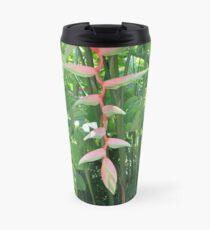 Beautiful Tropical Greenery Travel Mug