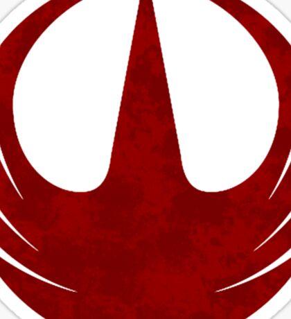 rebel alliance rogue one starbird Sticker