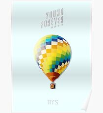 BTS/Bangtan Sonyeondan - Young Forever Balloon (Blue) Poster