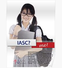 IASC? Me! Chinese Edition Poster