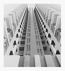 Singapore Skyscraper Photographic Print