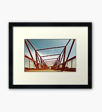 Bridge Perspective Framed Print