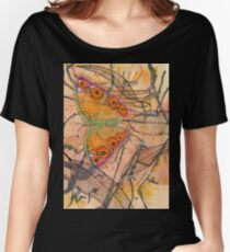 """Meadow Argus""  Women's Relaxed Fit T-Shirt"