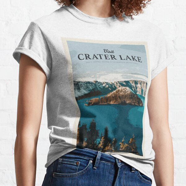 Visit Crater Lake Classic T-Shirt