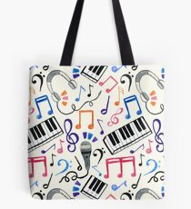 Good Beats - Music Notes & Symbols Tote Bag
