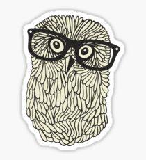 Smart owl Sticker