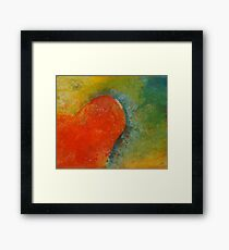 When I think of you Framed Print