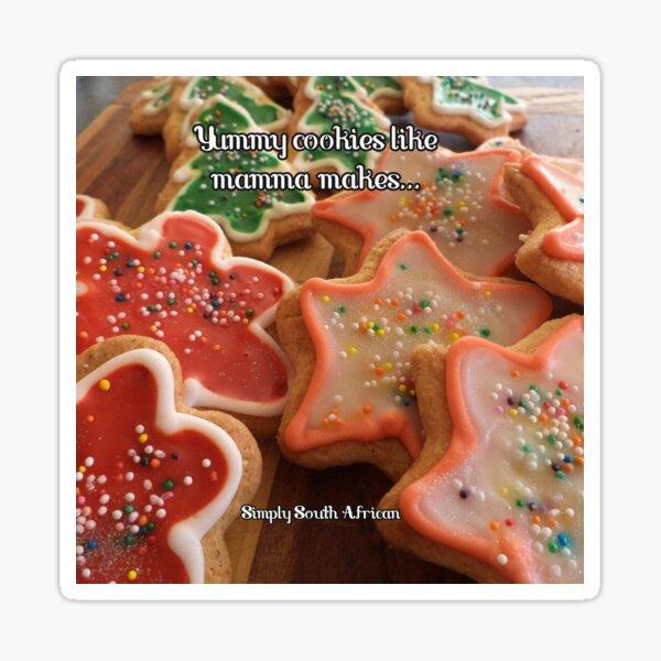 Yummy cookies like mamma makes! Sticker